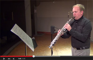 Herbiet Zep Theremin and Alto Saxophone Duet